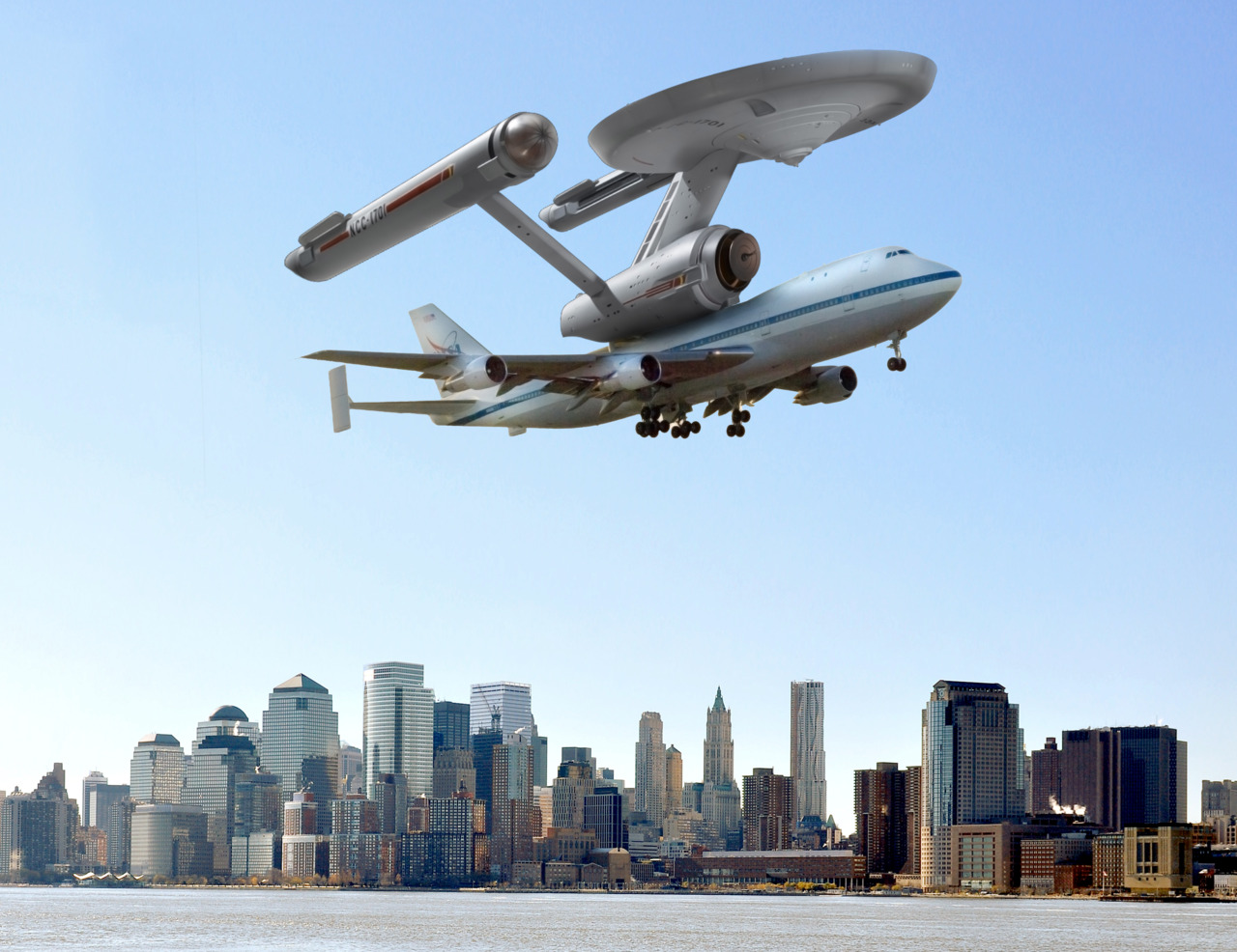 Space Shuttle Enterprise to Land at JFK atop Shuttle ...